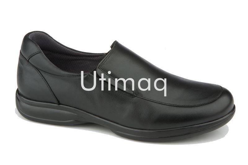 Zapato En Negro Cordones Antideslizante Sin ModeloOliver Piel Camarero Color dCxoBer